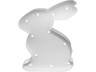 MARQUEE LIGHTS LED Dekolicht »Hase Häschen«, Wandlampe, Tischlampe Rabbit mit 11 festverbauten LEDs - 15cm Breit und 23cm hoch