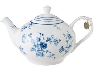 Teekanne, weiß, Material Porzellan, LAURA ASHLEY BLUEPRINT COLLECTABLES, spülmaschinengeeignet