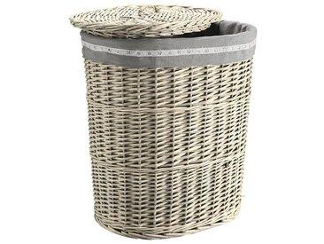 Wäschesammler, heine home, grau, Material Baumwolle, Polyester