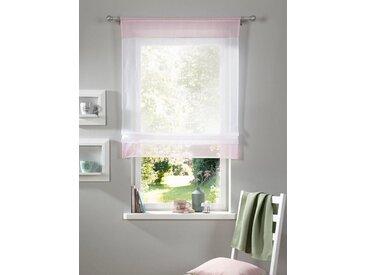 my home Bändchenrollo , rosa, H/B: 140/100cm, »Xana«