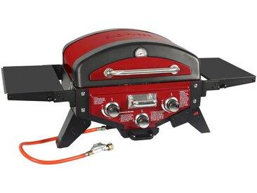 El Fuego Gas-Grill »Medison rot«, BxTxH: 118,5x38x52 cm