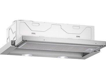 Flachschirmhaube, 59.8x20.3x29 cm (BxHxT), Energieeffizienzklasse B, NEFF, Material Edelstahl, spülmaschinengeeignet