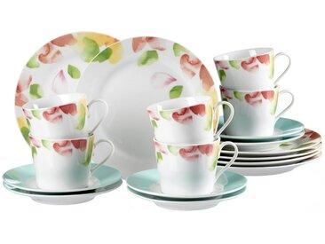 Kaffeeservice, weiß, Material Porzellan »Severine«, Ritzenhoff & Breker, spülmaschinengeeignet