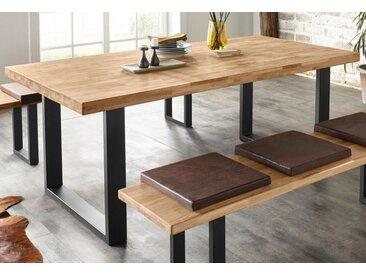 Ess-Tisch , FSC®-zertifiziert, beige, Material Massivholz »Faaborg«, Yourhome