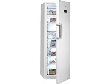 Tiefkühlschrank RFNE312E33W, 185,0 cm hoch, 59,5 cm breit, mit Umluftkühlung, Energieeffizienz: A++, weiß, BEKO, Sterne