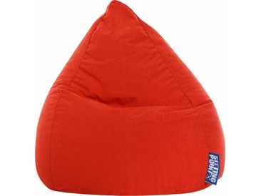 Sitz-Sack  »EASY L«, rot, Material Polystyrol / Polyester, Sitting Point