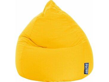 Sitz-Sack  »EASY XL«, gelb, Material Polystyrol / Polyester, Magma Heimtex