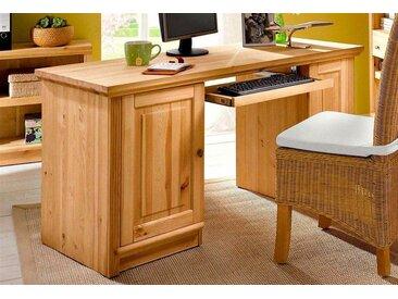 Home affaire Schreibtisch »Soeren«, beige, Material Kiefer