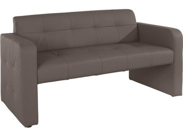 exxpo - sofa fashion Polsterbank, grau, Material Massivholz, strapazierfähig