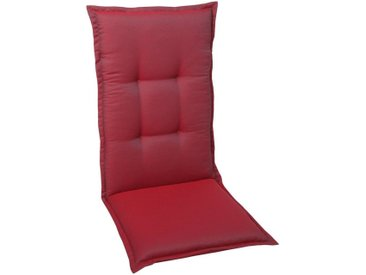 Sesselauflage, 50x120 cm (BxH), 2er Set, GO-DE, rot, Material Polyester, Vlies, Motiv