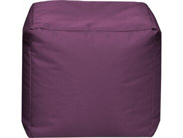 Sitz-Sack  »Cube SCUBA«, lila, Material Polystyrol / Polyester, Sitting Point