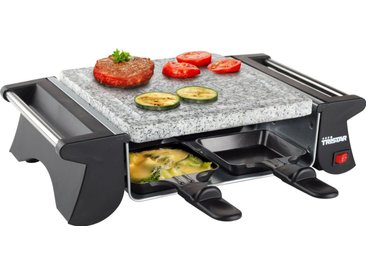 Tristar Raclette-Grill 2990 & Steingrill, 4 Raclettepfännchen, 500 W