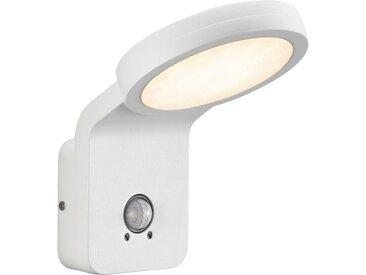 LED Außen-Wandleuchte »Marina Flatline Pir Sensor«, weiß, Material Aluminium, Nordlux