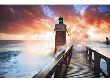 Home affaire  Foto-Tapete  »Lighthouse«, orange