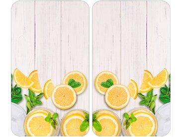 Herdabdeckplatte , beige »Universal Zitronen«, WENKO