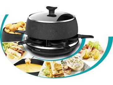 Tefal Raclette-Grill RE12C8 Fondue Cheese 'n Co, 6 Raclettepfännchen, 850 W