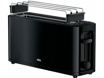 Toaster, schwarz, Braun