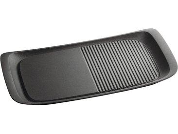 Grillplatte, 48,5 x 23,5 x 4,0 cm, schwarz, AEG