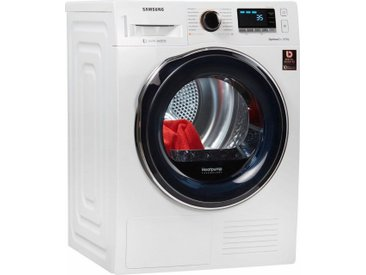 Wärmepumpentrockner DV6800 DV81M6210CW/EG, weiß, Energieeffizienzklasse: A+++, Samsung
