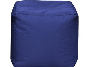 Sitz-Sack  »Cube SCUBA«, blau, Material Polystyrol / Polyester, Sitting Point