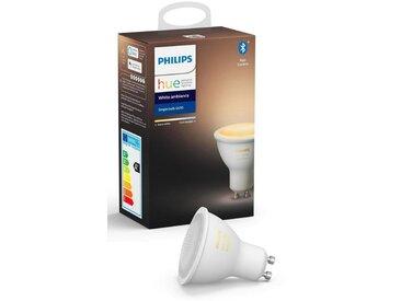 Philips Hue LED-Leuchtmittel, Energieeffizienzklasse A+, weiß »White Ambiance Einzelpack 1x350lm«