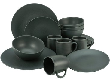 Kombi-Service  , schwarz »Soft Touch Black«, CreaTable, Unifarben