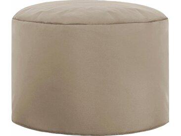 Sitz-Sack  »DotCom SCUBA«, B/T/H: 50x50x30 cm, braun, Material Polystyrol / Polyester, Sitting Point