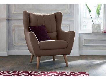 Lounge-Sessel , braun, Material Eiche »Trift«, Guido Maria Kretschmer Home&Living