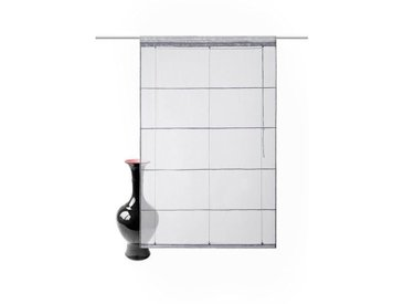 my home Bändchenrollo  »Xana«, H/B: 155/120 cm, unifarben