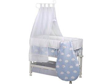 Stubenbett »3in1, Kleine Wolke blau«, weiß, Roba®
