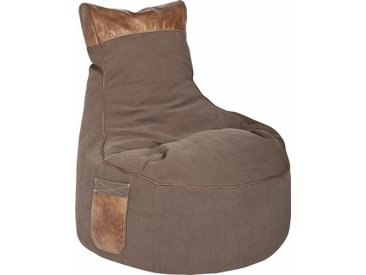 Sitz-Sack  »Swing JAMIE«, braun, Material Polystyrol / Polyester, Sitting Point