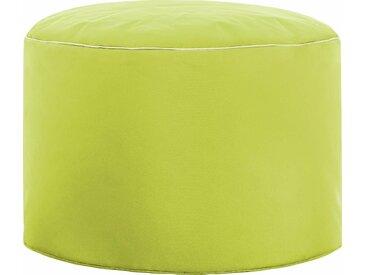 Sitz-Sack  »DotCom SCUBA«, B/T/H: 50x50x30 cm, grün, Material Polystyrol / Polyester, Sitting Point