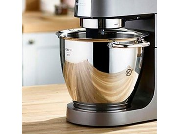 Küchenmaschinenschüssel, 26 cm, silber, Material Titanium / Edelstahl »Chef XL Titanium KAT811SS«, KENWOOD