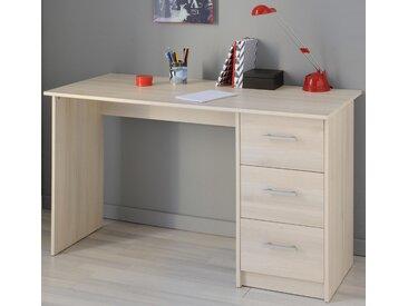 Schreibtisch, beige »Infinity«, Parisot, mit Schubkästen