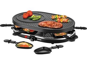 Raclette Gourmet 48795, schwarz, Material Edelstahl, Unold