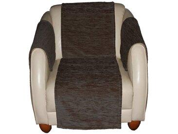 Wirth Sofaüberwurf , grau, Material Stoff / Thermo-Chenille »Miriam«, Meliert, strapazierfähig