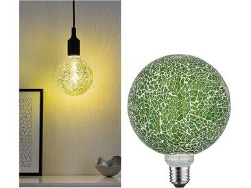 LED Leuchtmittel »Miracle Mosaic Grün E27 2700K dimmbar«, transparent, Paulmann