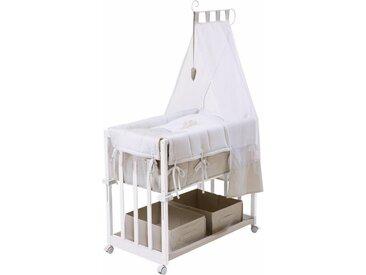 Stubenbett »4in1, Heartbreaker«, weiß, Liegefläche: 43 x 85cm, Roba®