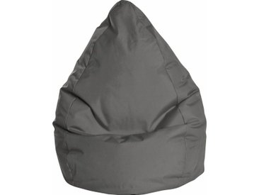 Sitz-Sack »BRAVAL L«, 70x120x70 cm (BxHxT), Sitting Point, schwarz, Material Polystyrol, Polyester