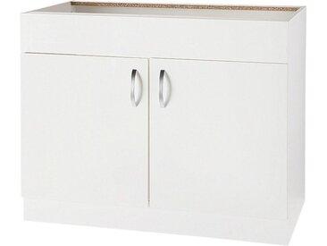Spülenschrank »Flexi«, weiß, wiho Küchen