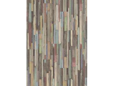 EGGER Laminat »Dimas Wood bunt«, kreative Vintageoptik, universell einsetzbar