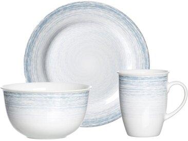 Frühstücksset   »Nordic Smilla«, blau, Material Porzellan, Ritzenhoff & Breker, spülmaschinengeeignet