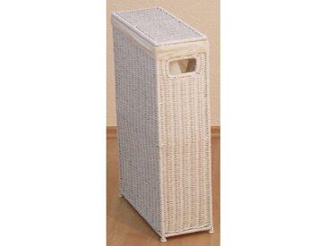 Wäschekorb, 16x59x39 cm (BxHxT), Yourhome, weiß, Material Baumwolle