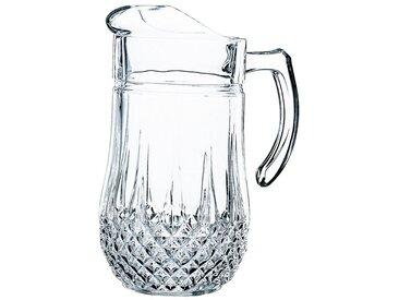Wasserkrug »Longchamp«, transparent, Spülmaschinengeeignet, , , spülmaschinengeeignet, ECLAT