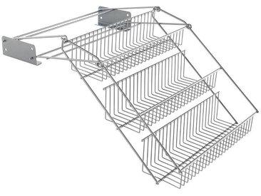 Gewürzregal »Up & Down«, 33x21x28 cm, silber, Material Metall, Metaltex