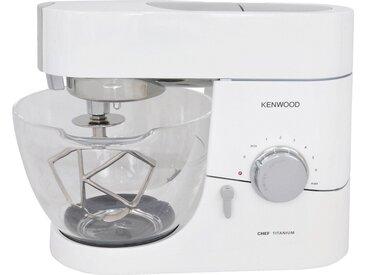 KENWOOD Küchenmaschinenschüssel , transparent, gehärtet, »Chef Glas-Rührschüssel AT550«, ,