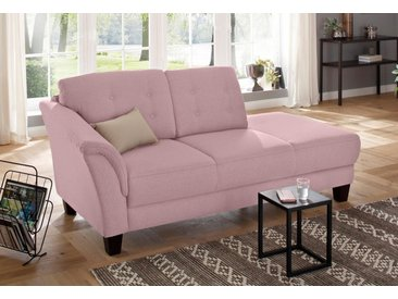 Home affaire  Chaiselongue  »Lillesand«, mit Federkern, rosa, Material Holz