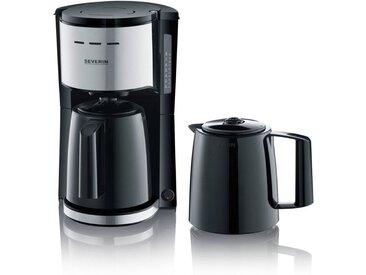 Severin Filterkaffeemaschine KA 9253, 1l Kaffeekanne, 1x4, mit 2 Thermokannen