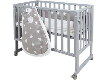Stubenbett, grau »safe asleep® 3-in-1 Little Stars«, Roba®