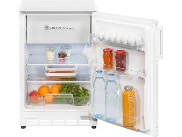exquisit Einbaukühlschrank UKS 115-15 A+, 81,6 cm hoch, 49,5 cm breit, Energieeffizienz: A+